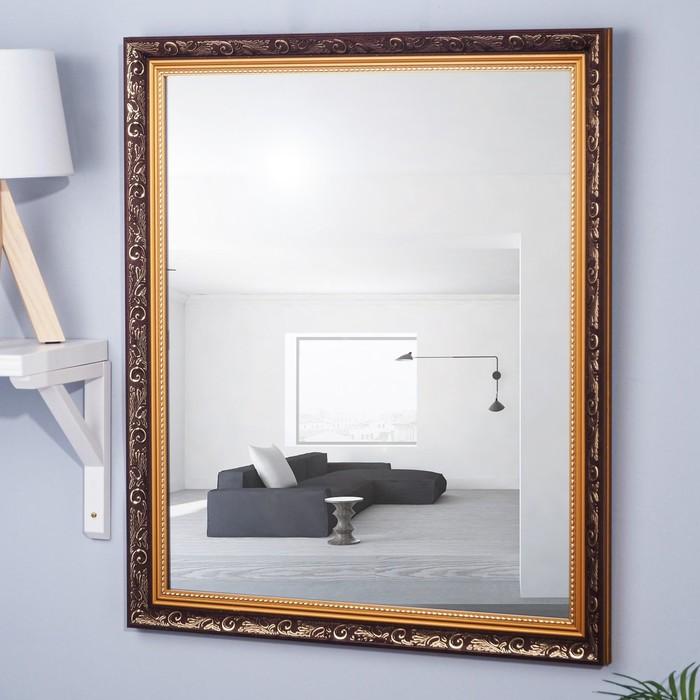 Зеркало настенное «Симфония», 63×73 см,рама пластик, 48 мм - фото 797951336