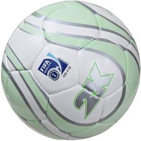 Мяч футбольный 2K Sport Parity Lime FIFA Inspected, white/silver/green, размер 5