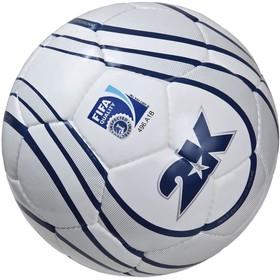 Мяч футбольный 2K Sport Parity Silver FIFA Inspected, white/silver/navy, размер 5