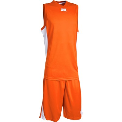Баскетбольная форма 2K Sport Futuro, orange/orange/white, размер M