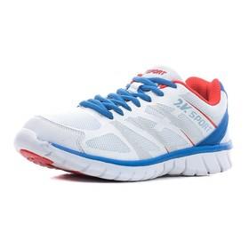 Кроссовки 2K Sport TY special подростковые, white/royal/red, размер 34