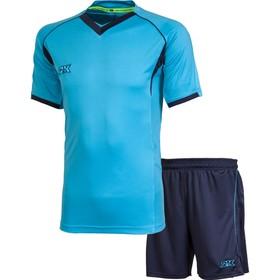 Комплект футбольной формы 2K Sport Agio, sky-blue/navy, размер XXXL