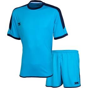 Комплект футбольной формы 2K Sport Siena, sky-blue/sky-blue/navy, размер XXXL