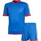 Комплект футбольной формы 2K Sport Siena, royal/royal/silver/red, размер XXL