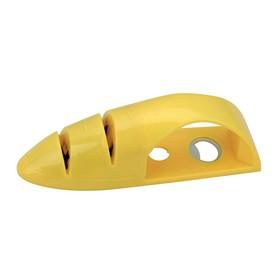 Точилка для ножей 3 в 1, 10,5 х 9,5 х 2,3 см цвет МИКС