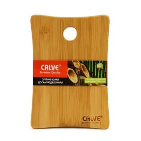 Разделочная доска из бамбука 24,9  х 17,3 х 0,9 см