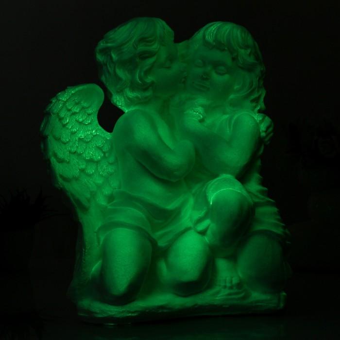 """Светящаяся фигура """"Ангел и фея сидя большие"""" 21х30х42см"""