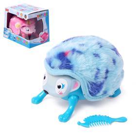 Музыкальная игрушка «Ёжик Потешка», переворачивается, сворачивается клубком, звуковой эффект, МИКС