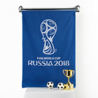 Полотенце махровое 70х130 см, цвет синий (400г/м2), 2018 FIFA World Cup Russia™
