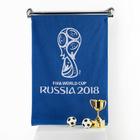 Полотенце махровое 50х90 см , цвет синий (400г/м2), 2018 FIFA World Cup Russia™