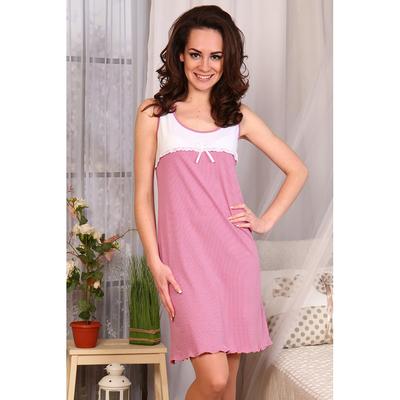 Сорочка женская 567 цвет розовый, р-р 44