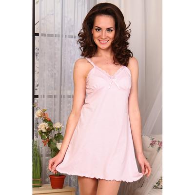 Сорочка женская 548/2 цвет розовый, р-р 44