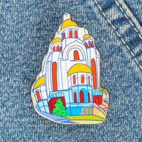 Значок «Екатеринбург. Храм-на-Крови» Ош