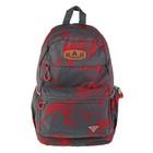 Рюкзак молодежный Across 45*29*18 AC18 серый/красный AC18-148-02