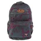 Рюкзак молодежный Across 45*29*18 AC18 серый/фиолетовый AC18-148-03