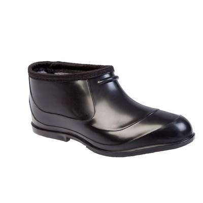 Overshoes insulated female art. D1-U (black) (R. 36 (22.5 cm))