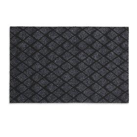 Коврик придверный влаговпитывающий «галант», 36×55 см, цвет серый Ош