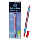 Ручка шариковая Schneider Slider Edge M, узел 0,5 мм, стержень красный