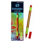 Линер Schneider Line-Up, узел 0,4 мм, алый