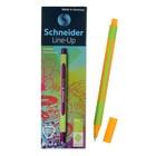 Линер Schneider Line-Up, узел 0,4 мм неоново-оранжевый