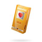 Презервативы Masculan 4 Ultra , 10 шт, золотого цвета