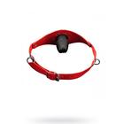 Кляп 0T-00005650, натуральная кожа, цвет красный