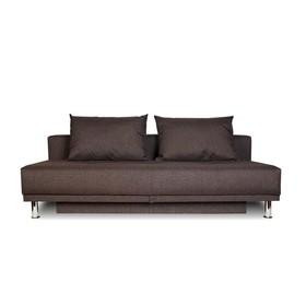 Диван-кровать NEXT рогожка баклажан