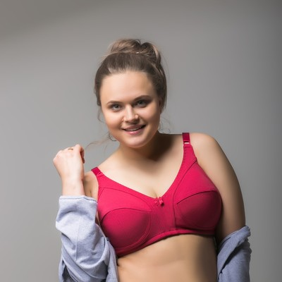 "Бюстгальтер женский ""Жаклин"", размер 120 D, цвет бордо 1501"