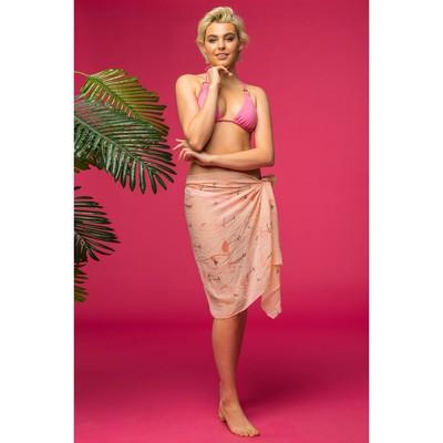 """Парео Этель """"Фламинго"""" 70 х 180 см, цвет розовый"""