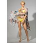 """Парео женское """"Колибри"""", размер 60 х 180 см, цвет бежевый"""