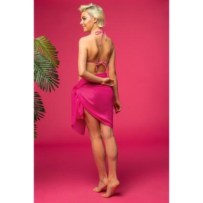"""Парео Этель """"Классика"""", размер 70 х 180 см, цвет розовый"""
