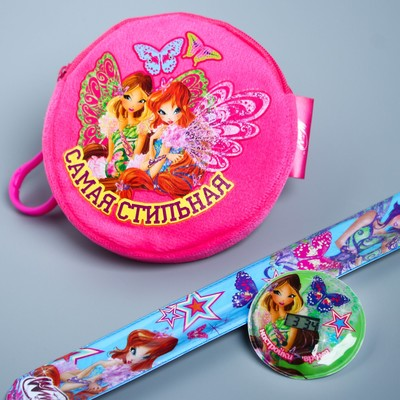 """Set of watch and wallet """"the Most stylish"""", WINX fairies"""