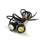 Ходовые огни KS, KS-Н004, (1 High Power LED), линза, металл, провода, 22х33х22мм, 2шт.