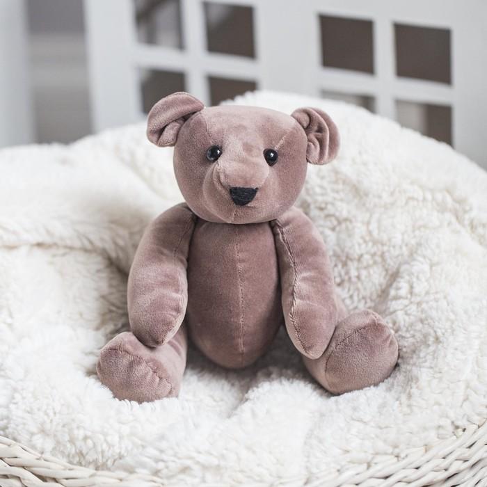Мягкая игрушка «Плюшевый мишка Тобиас», набор для шитья, 18.5 × 22.8 × 2.5 см - фото 729754738