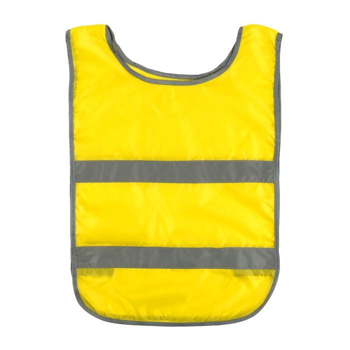 """Жилет-накидка """"Автомобилист"""", 190 гр/кв.м, желтый, cоответствует ГОСТу"""