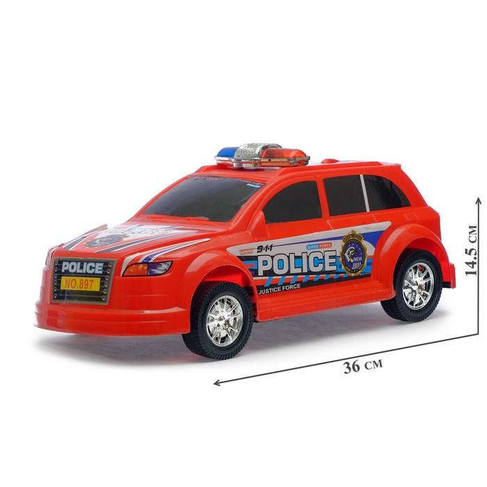 Машина инерционная «Полицейский патруль», МИКС