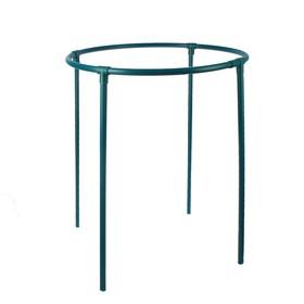 Кустодержатель, d = 50 см, h = 72 см, ножка d = 2 см, пластик, зелёный