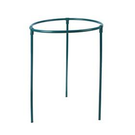 Кустодержатель, d = 40 см, h = 50 см, ножка d = 1.2 см, пластик, зелёный