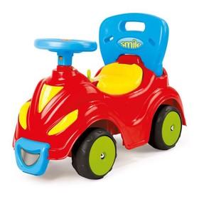 Толокар-автомобиль, 2 в 1, красный