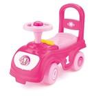 Толокар-автомобиль, розовый