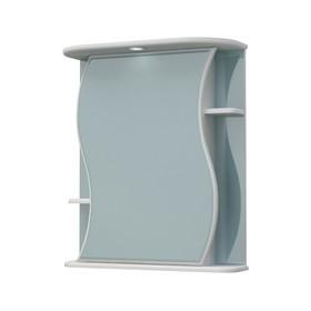 Шкаф-зеркало Бергамо 60С белый