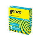 Презервативы Ganzo Ribs № 3, ребристые