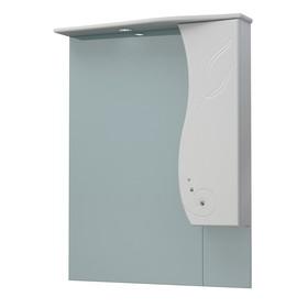 Шкаф-зеркало Лилия 76C белый