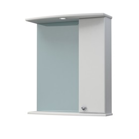 Шкаф-зеркало Крокус 60С белый правый