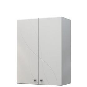 Шкаф навесной Дуб 60 белый