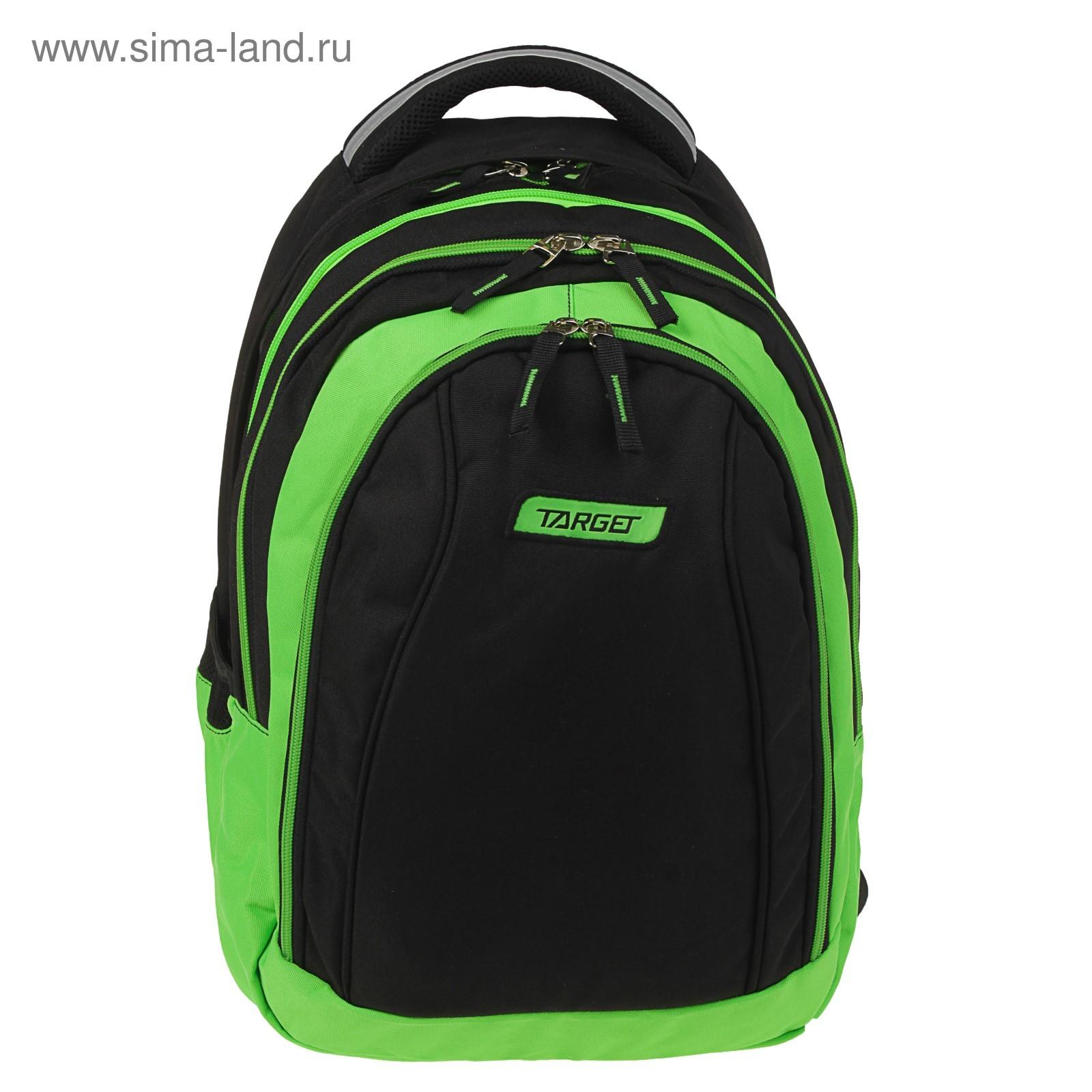 337ece105a61 Рюкзак молодежный эргономичная спинка Target 46*32*18 2 рюкзака в одном  Green apple