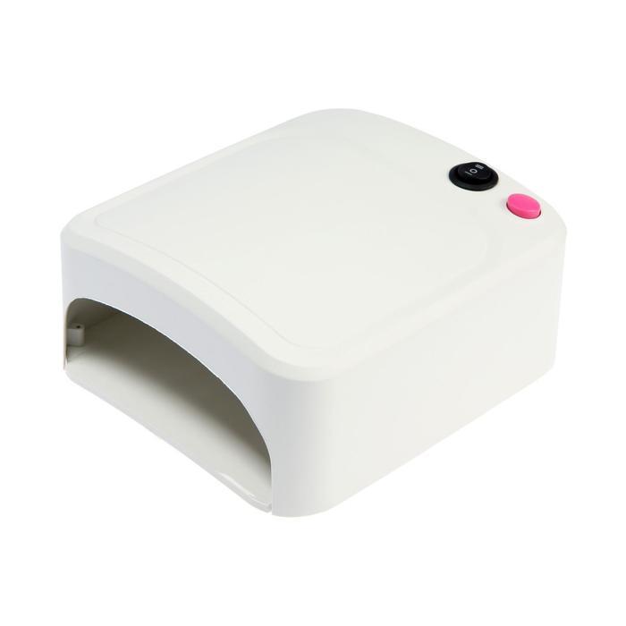 Лампа для гель-лака LuazON LUF-10, UV, 36 Вт, 220 В, белая
