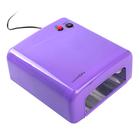 Фиолетовый глянцевый