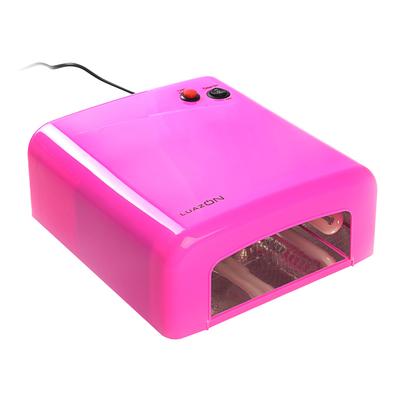 Лампа для гель-лака LuazON LUF-01, UV, 36 Вт, цвет фуксия