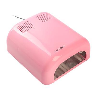Лампа для гель-лака LuazON LUF-07, UV, 36 Вт, глянцевая, розовая
